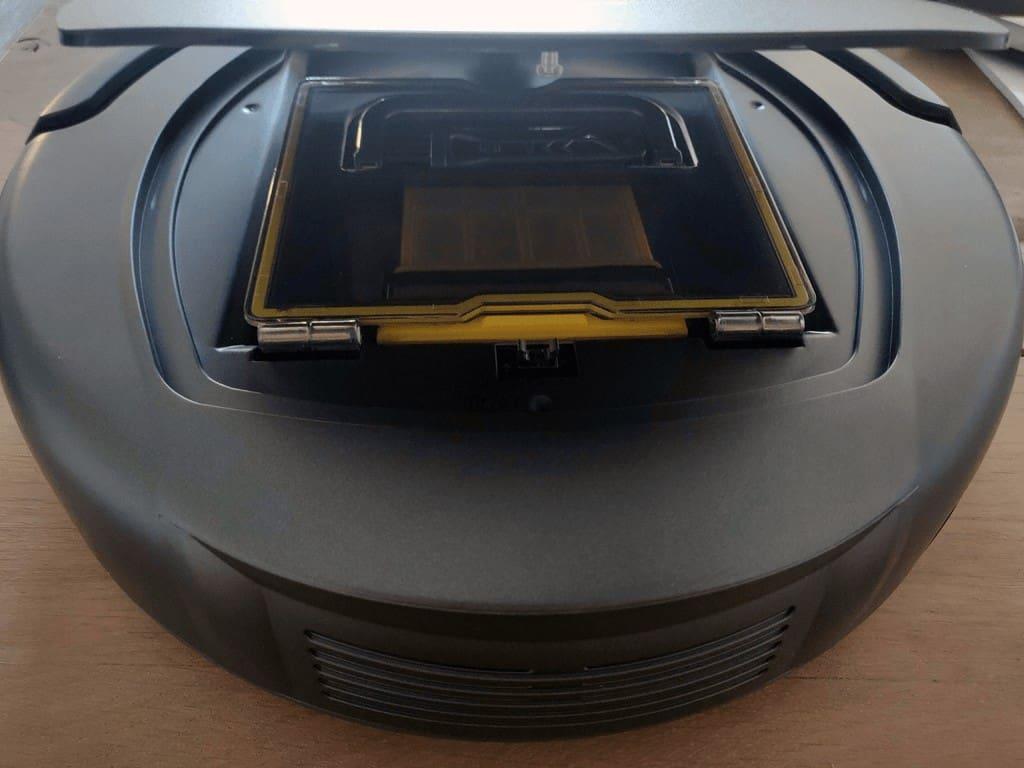 Alfawise Robot vacuum zk8077 open