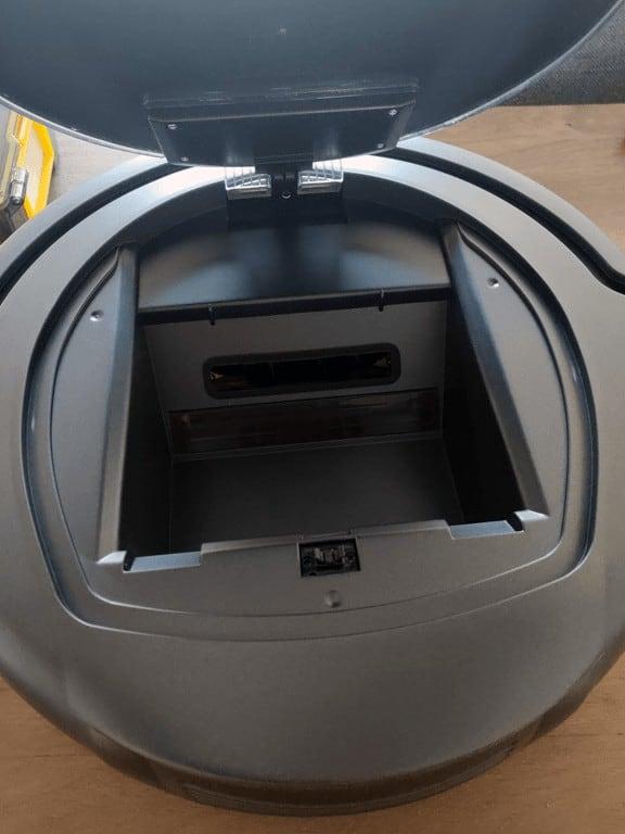 Alfawise Robot vacuum zk8077 removed bin