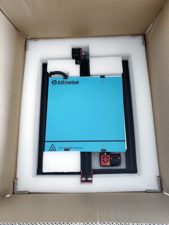 Alfawise U20 glassplate in box