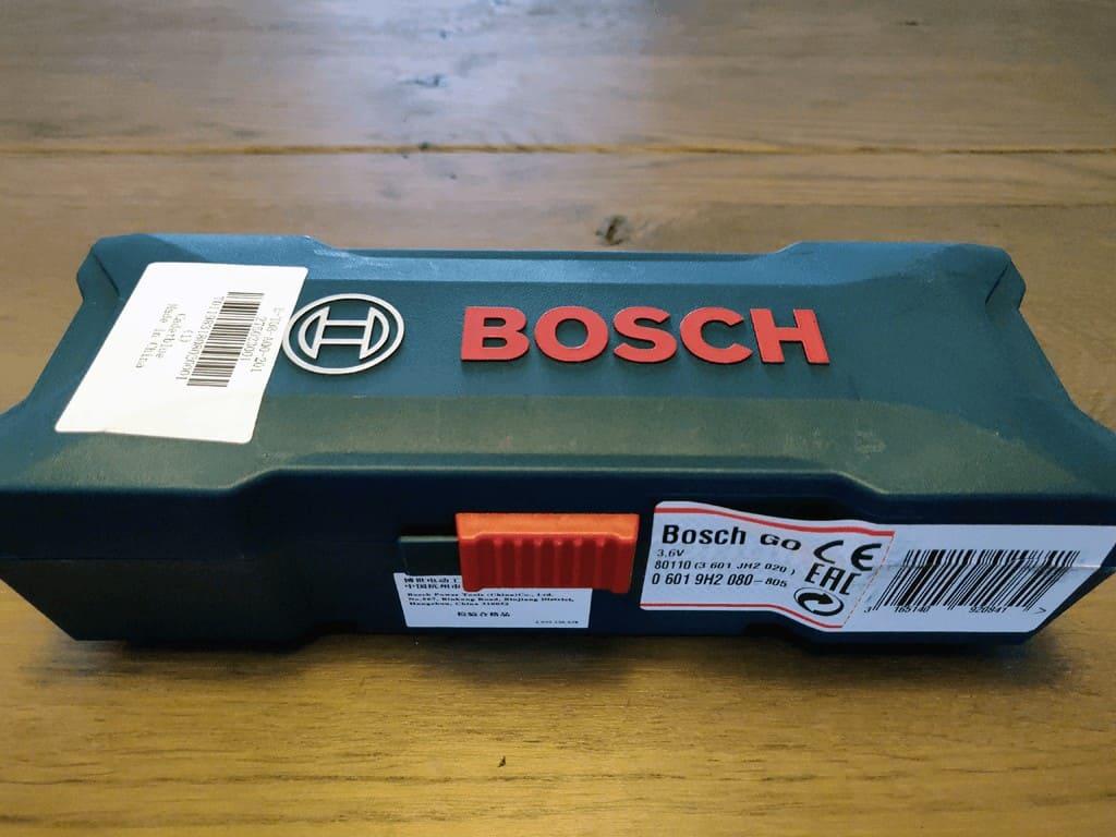 Bosch GO in box