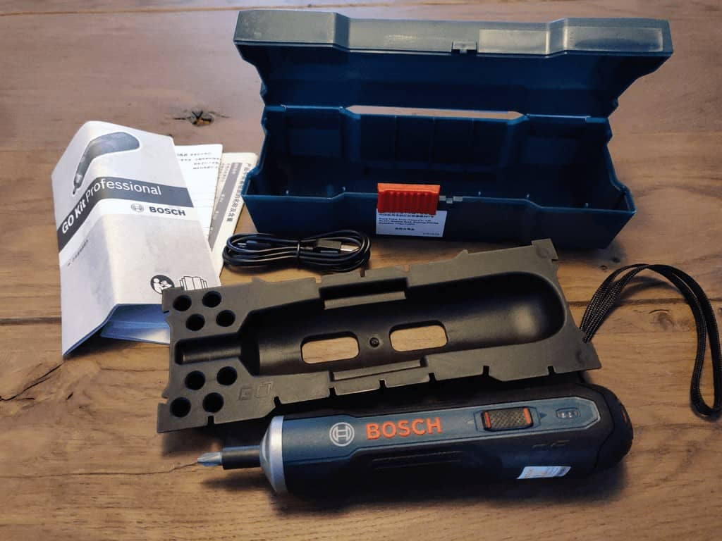 Bosch GO unpacked