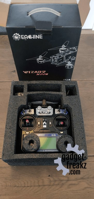 Eachine Wizard X220 FPV Racing RC Drone controller in