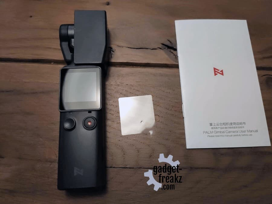 Fimi Palm Gimbal Camera – unboxed