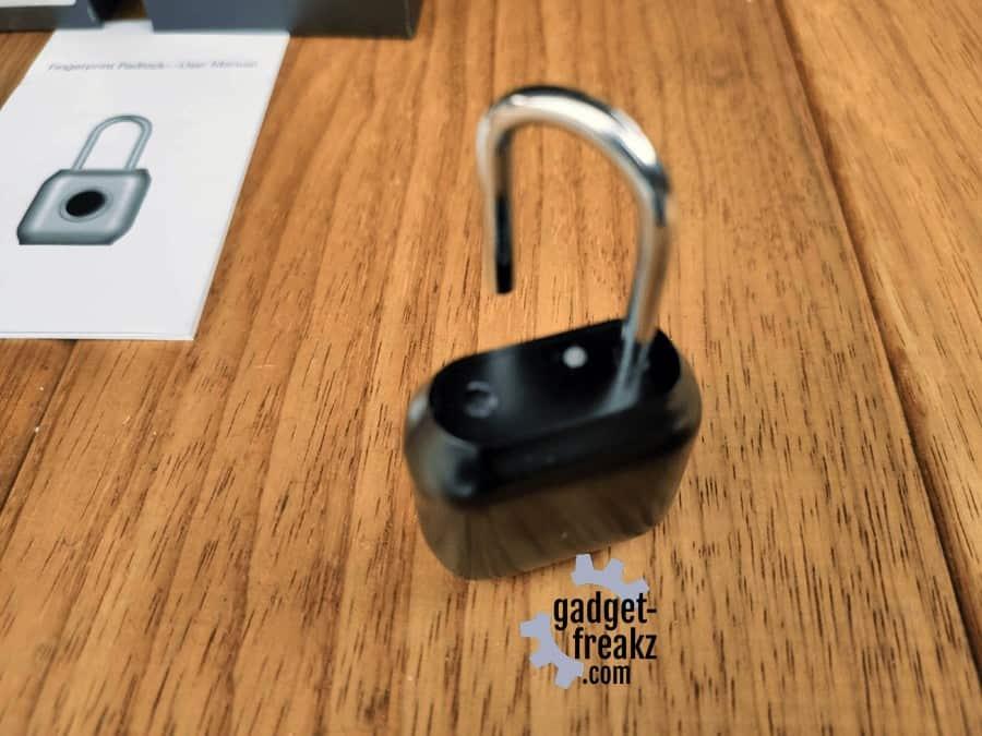 Smart Padlock opened