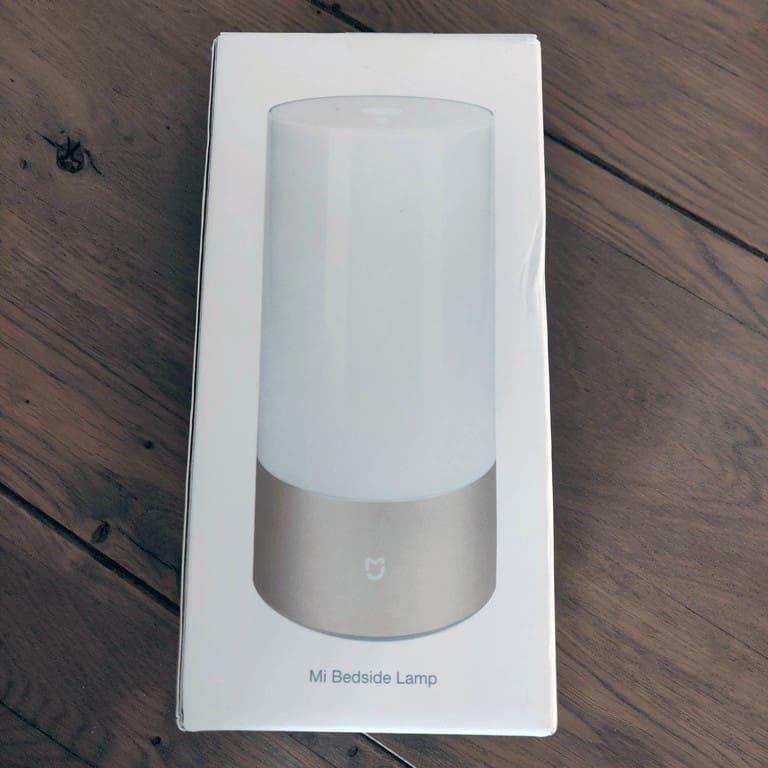 Xiaomi Mijia MJCTD01YL Yeelight Bedside Lamp box front