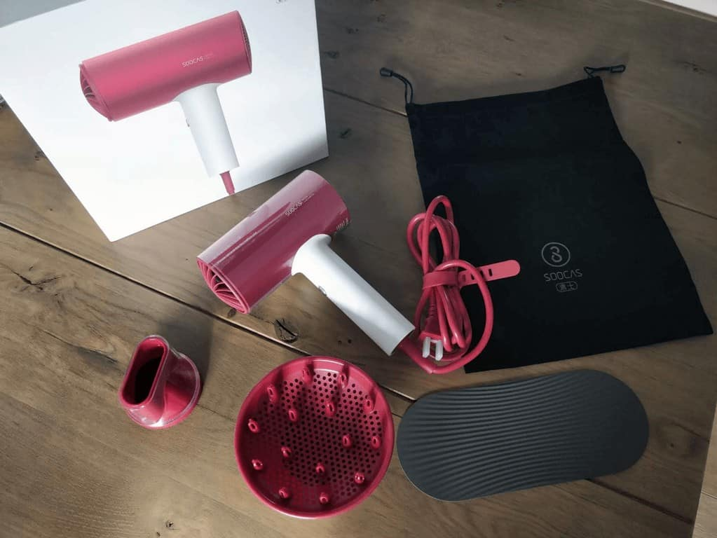 Xiaomi Soocare Soocas H3 Anion HairDryer full package