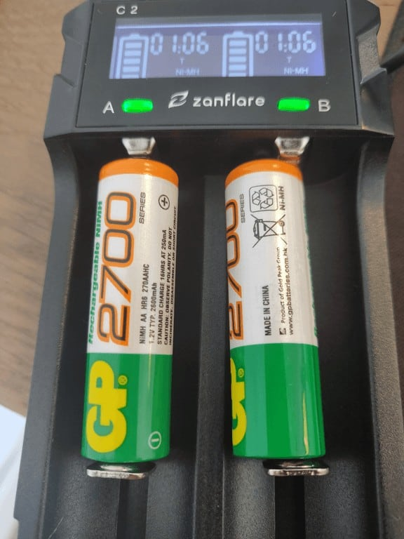 zanflare C2 Battery charged