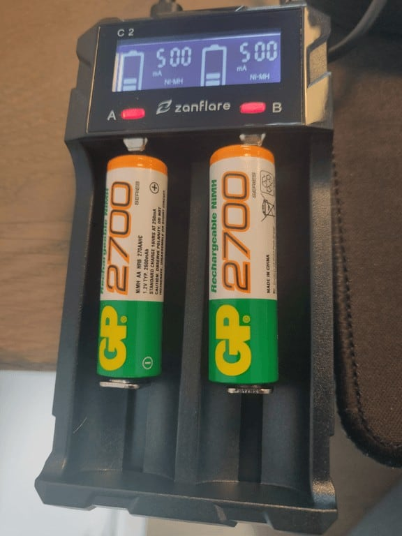 zanflare C2 Battery charging
