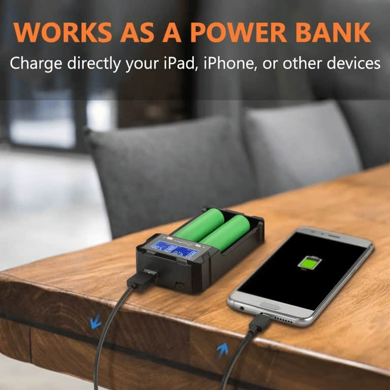 zanflare battery charger as powerbank