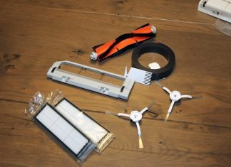 Xiaomi robotic Vacuum Cleaner whole set
