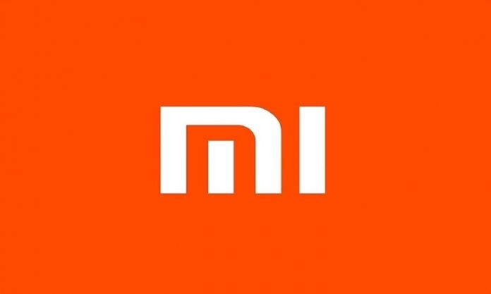 xiaomi logo orange background