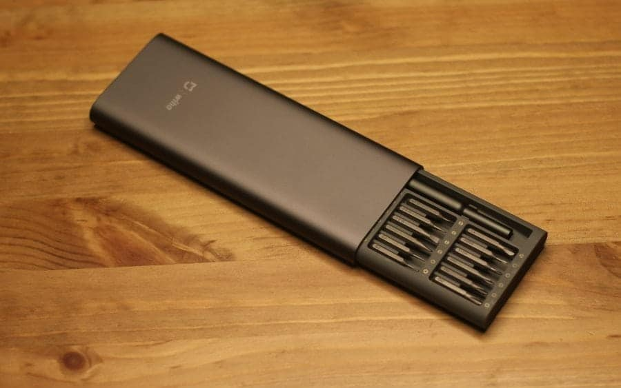 Xiaomi Wiha 24 in 1 Precision Screwdriver Kit in it's case