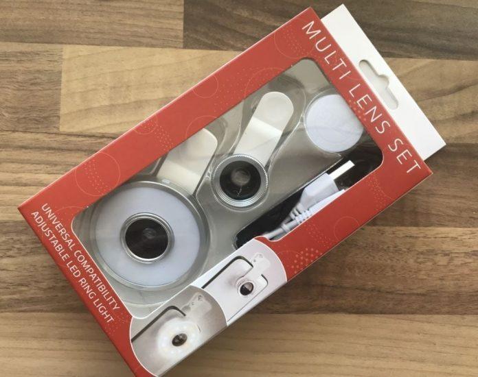 multi lens set in box