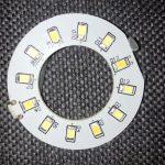 multi lens set light ring inside