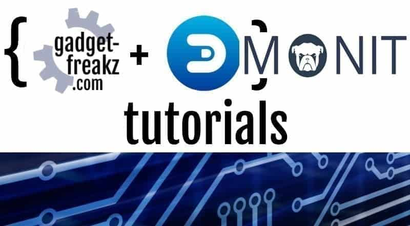 Domoticz tutorial Monit