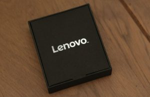 Lenovo Cardio Plus HX03W Smartband - Front of Box