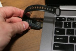Lenovo Cardio Plus HX03W Smartband - Loading via USB