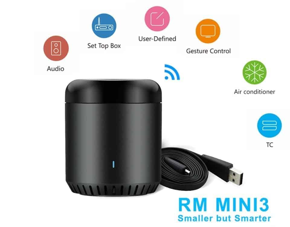 Broadlink RM mini3 WIFI / IR Remote Controller - Gadget