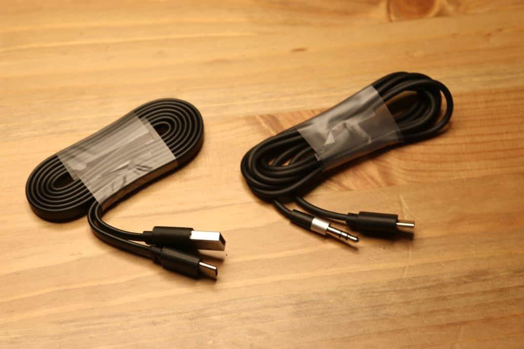 Bluedio T5 cables
