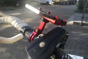 GUB Plus 6 Holder Installed on Bike
