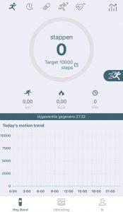 Oukitel W1 Smart Watch App Main Screen