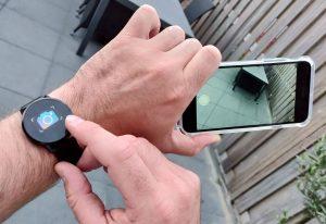 Oukitel W1 Smart Watch Camera Remote