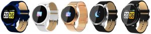 Oukitel W1 Smart Watch Different colors
