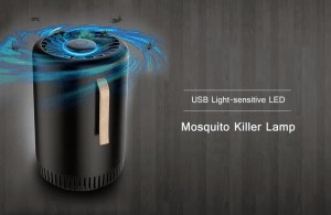 USB Light-sensitive LED Mosquito Killer Lamp