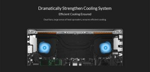 xiaomi notebook pro cooling system