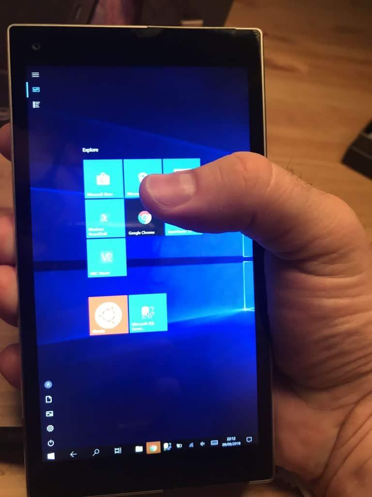 Ockel Sirius A - Windows 10 Portrait