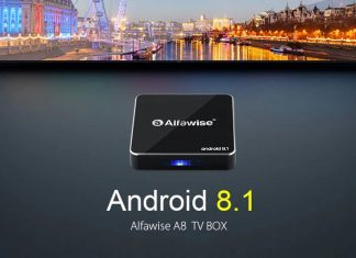 Alfawise A8 TV Box - Features Image