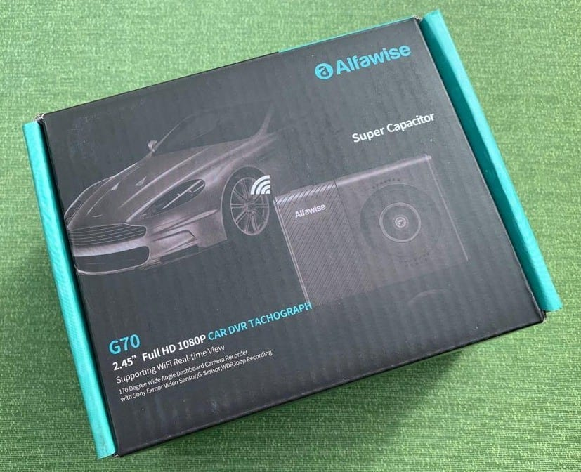 Alfawise G60 Front of Box