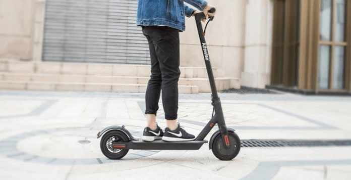 Alfawise M1 Folding Electric Scooter full