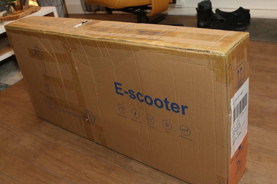 Alfawise M1 cardboard box