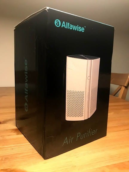 Alfawise P1 Front of Box