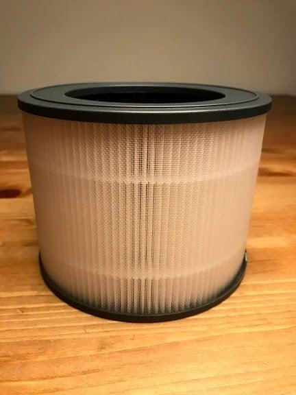 Alfawise P1 HEPA filter unpacked