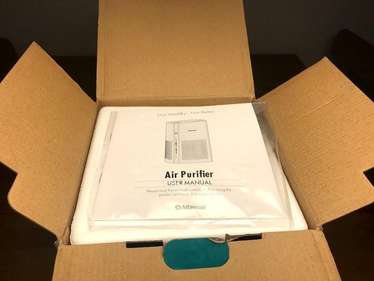 Alfawise P1 Manual in Box