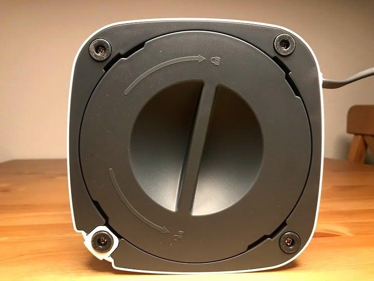 Alfawise P1 bottom lid