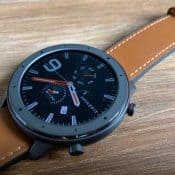 Amazfit GTR front of watch