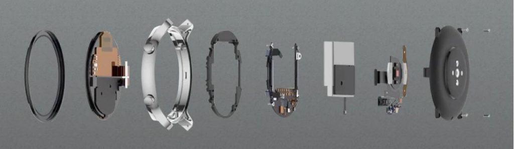 Amazfit GTR components
