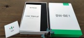 BW BE1 Android Watch box opened