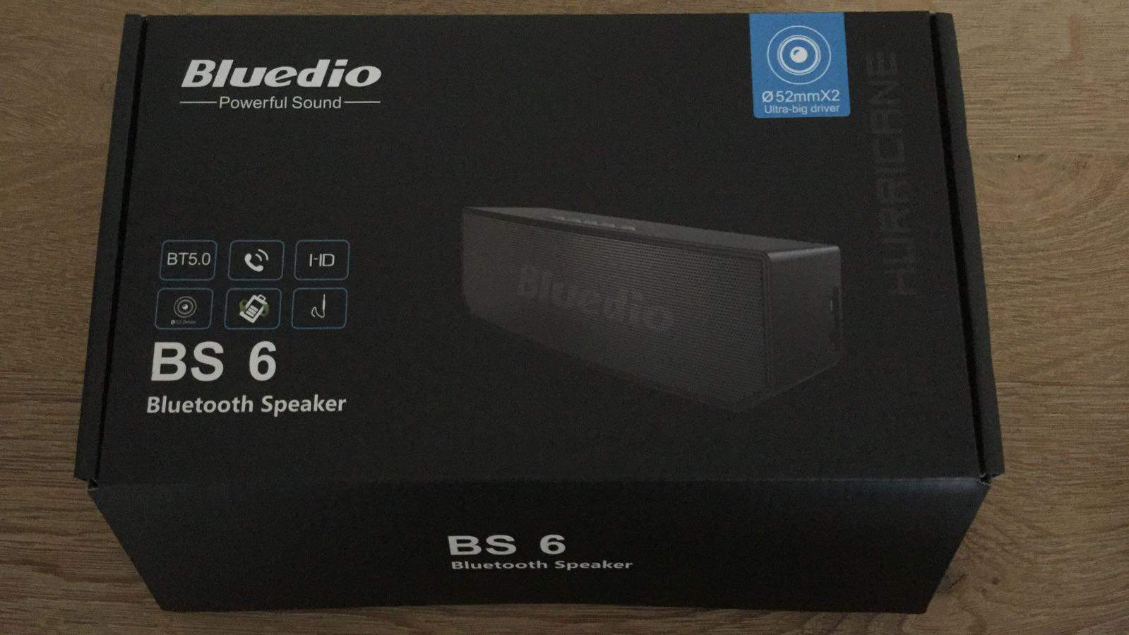 Bluedio BS 6 Box