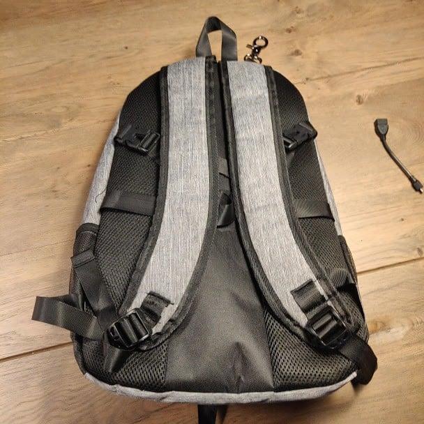 Canvas Backpack Back