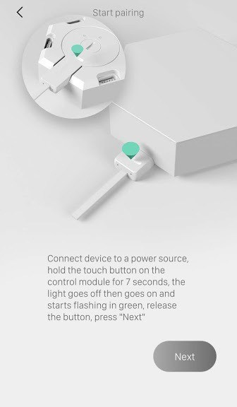 Cololight Setup Put Light in Sync Mode