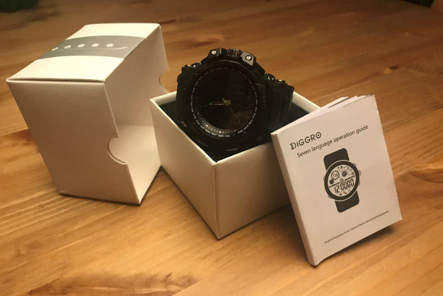 Diggro DI10 Smart Sport Watch In box