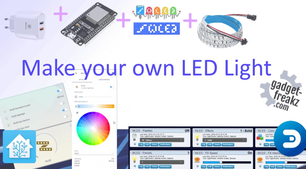Make your own LED Light