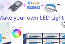 Make your own LED Light