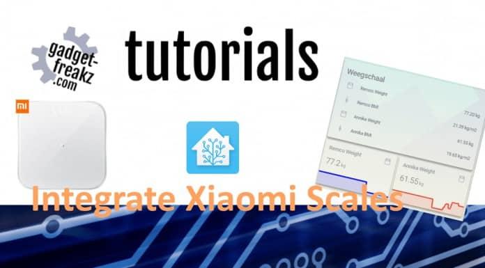 Integrate Xiaomi scales tutorial