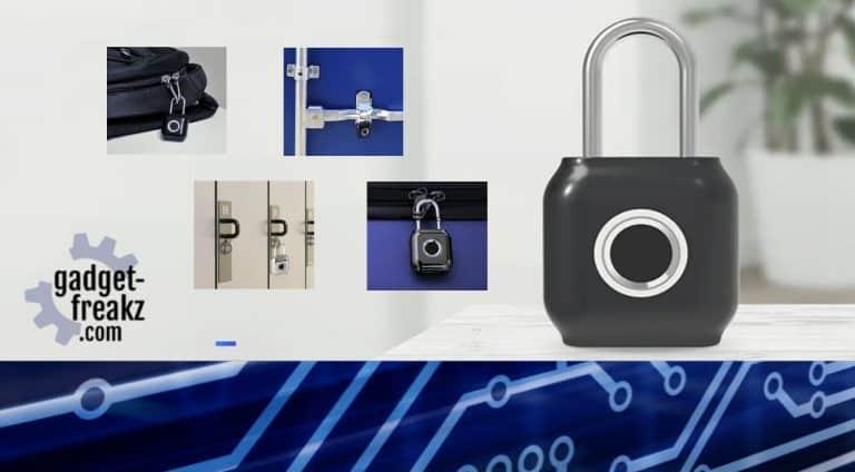YEELOCK Smart Fingerprint Door USB Lock