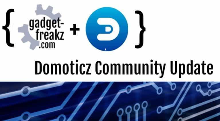 Domoticz Community Update October 2019